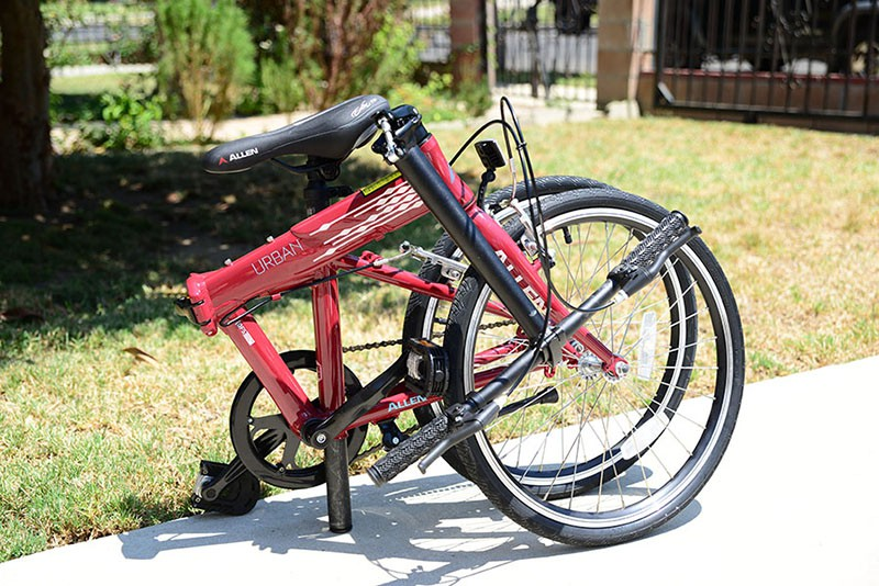 Allen Sports Urban Folding Bike Review
