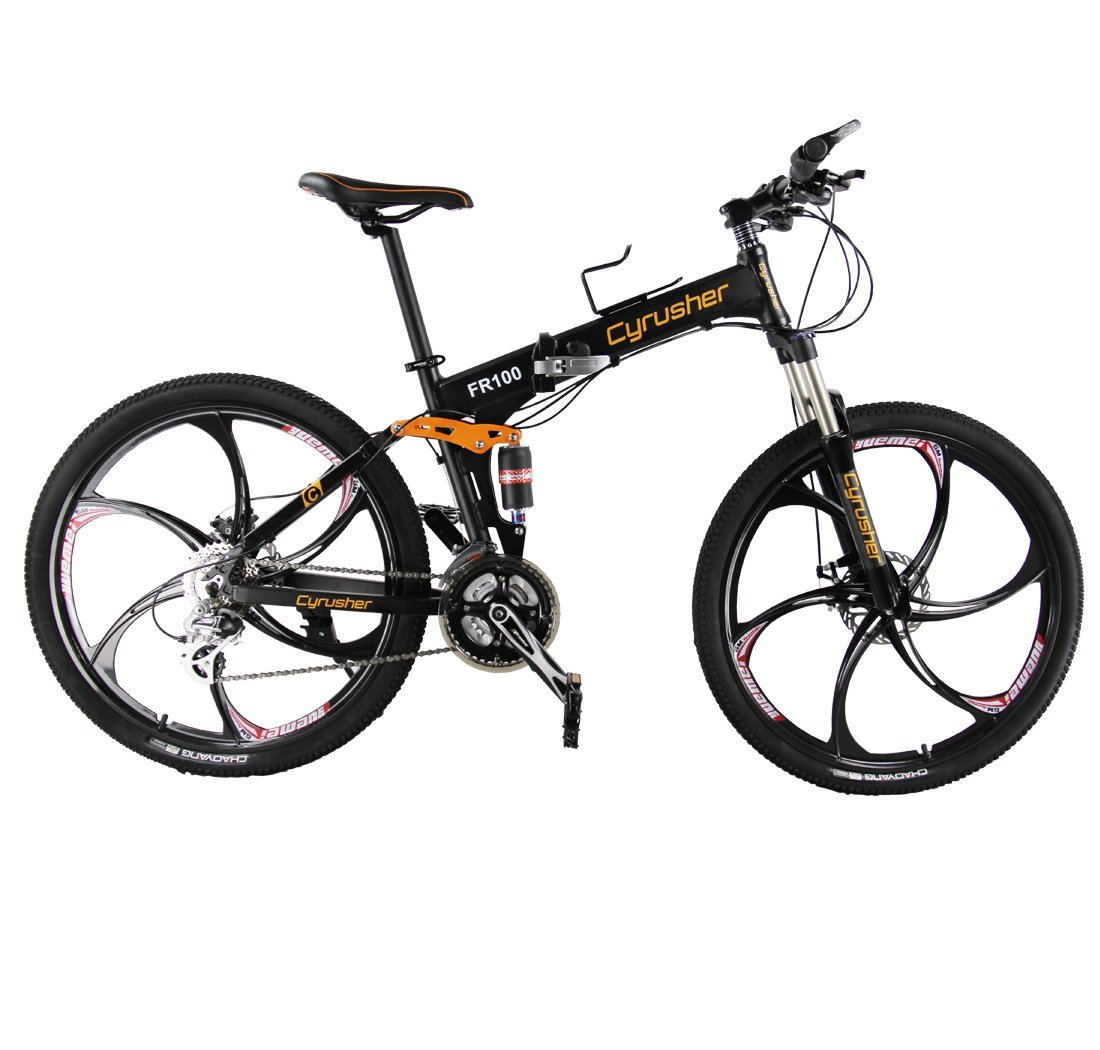 Cryusher FR100 Folding Mountain Bike Review
