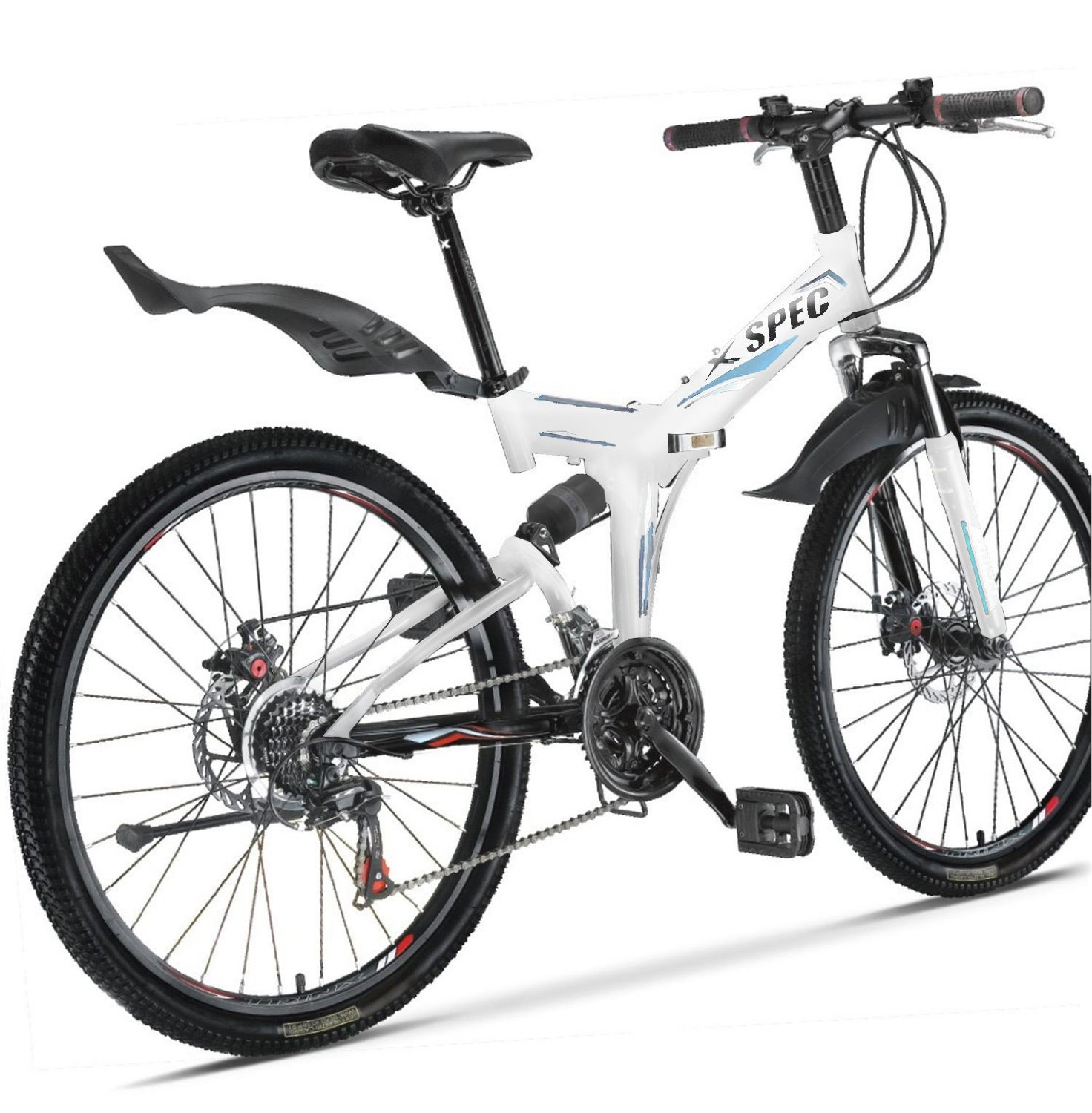 Xspec Folding Mountain Bike