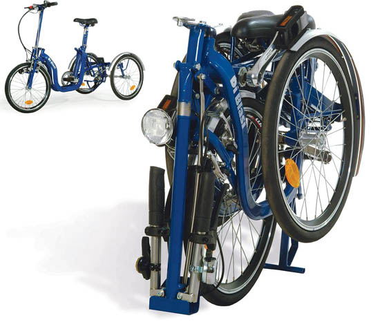 Folding Adult Tricycle